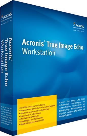 Acronis True Image Echo Workstation 9.5.8076